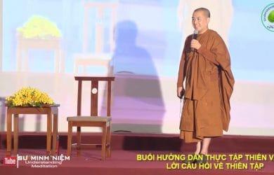 huong dan chi tiet cach thuc hanh thien va tra loi cau hoi