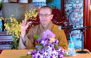 y thay thich thien xuan thuyet giang 2018