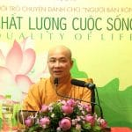 song trong chanh niem thay thich tri hue