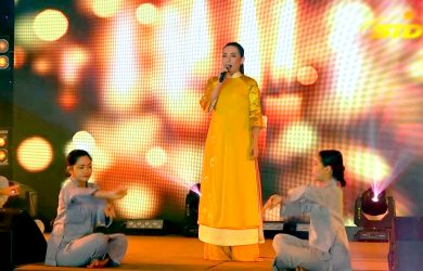 tieng hat ca si phi nhung mung dai le phat dan vesak 2019
