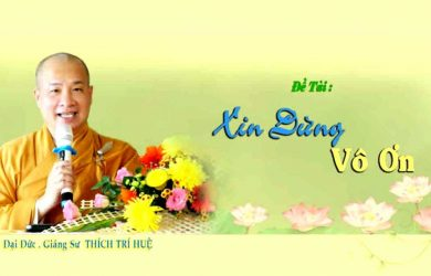 xin dung vo on thay thich tri hue 2019