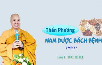 than phuong nam duoc bach benh phan 3 thich tri hue 2019